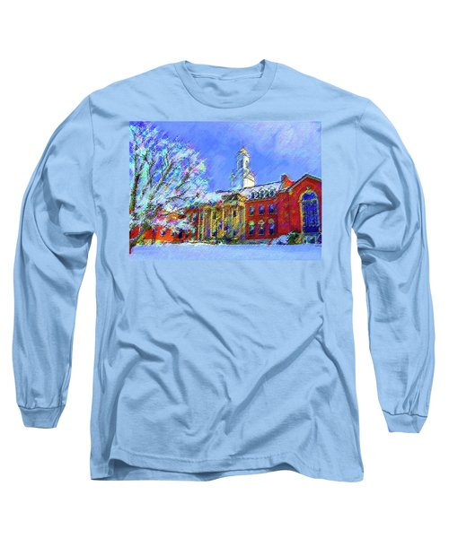 Wilbur Library  Uconn Long Sleeve T-Shirt