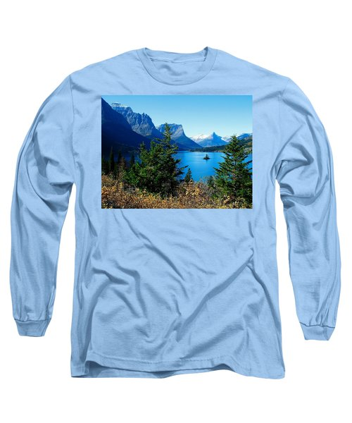 Wild Goose Island In The Fall Long Sleeve T-Shirt