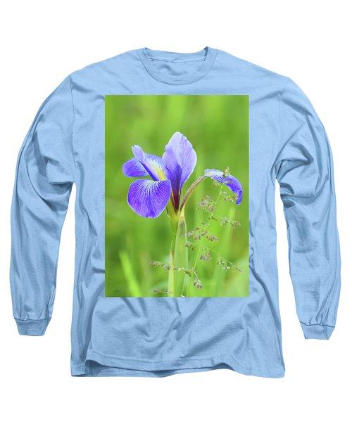 Wild Iris Long Sleeve T-Shirt