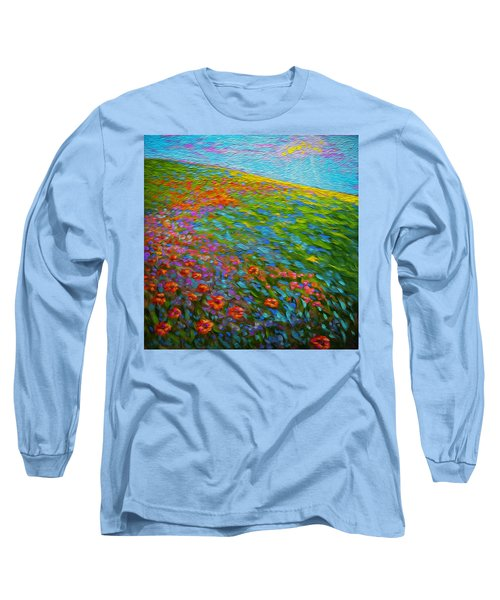 Wildflower Pastoral Long Sleeve T-Shirt