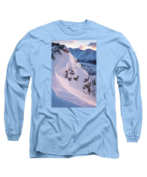 Wind-sculpted Sunset Long Sleeve T-Shirt