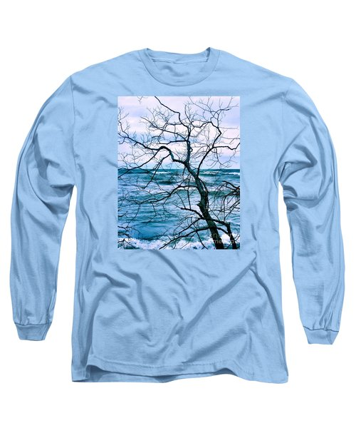 Wind Swept Long Sleeve T-Shirt by Heather King