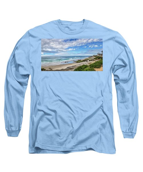 Long Sleeve T-Shirt featuring the photograph Windansea Wonderful by Peter Tellone