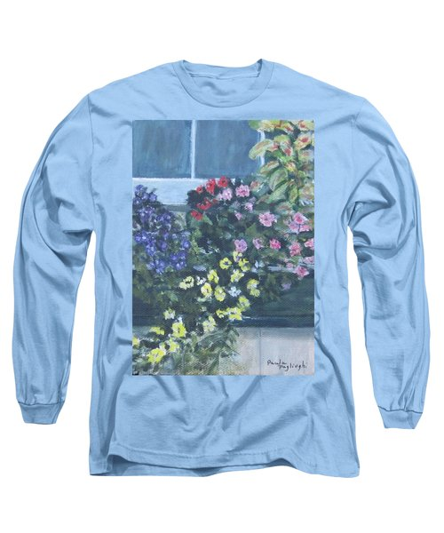 Window Box Long Sleeve T-Shirt