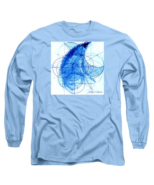 Long Sleeve T-Shirt featuring the painting Windstorm by James Christopher Hill