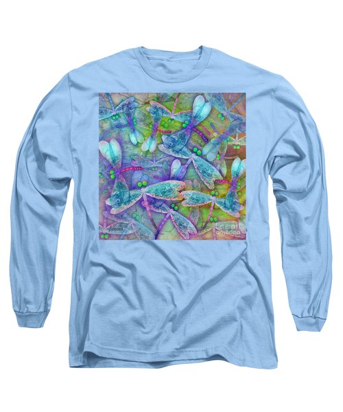 Wings Large In Square Format Long Sleeve T-Shirt