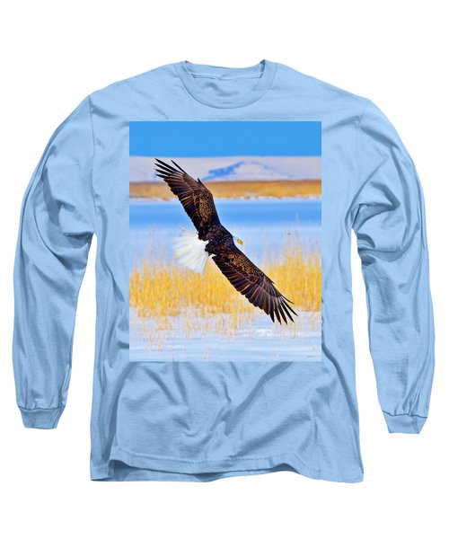 Long Sleeve T-Shirt featuring the photograph Wingspan by Greg Norrell