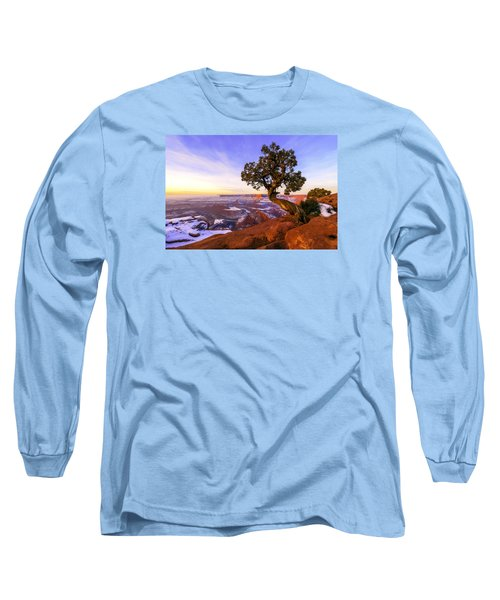 Winter At Dead Horse Long Sleeve T-Shirt by Chad Dutson