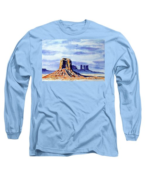 Winter At Merrick Butte Long Sleeve T-Shirt
