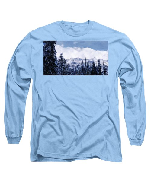 Winter At Revelstoke Long Sleeve T-Shirt
