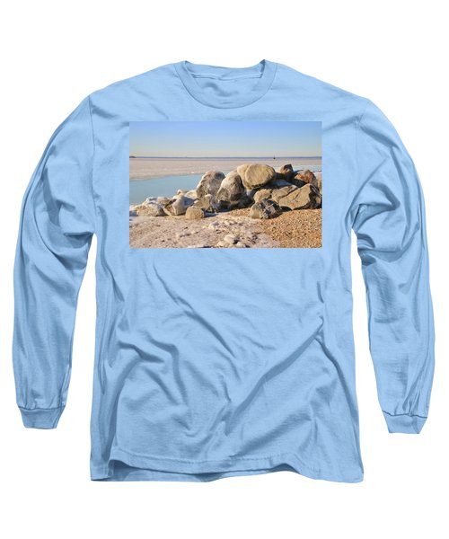 Winter At The Beach Long Sleeve T-Shirt