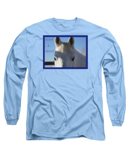 Winter Horse Christmas Long Sleeve T-Shirt