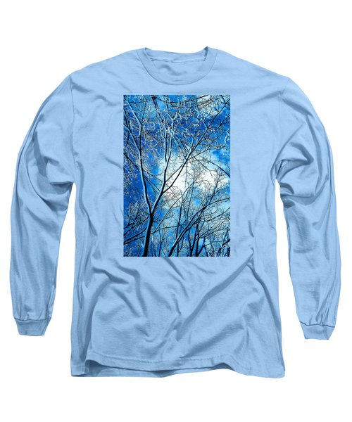 Winter Solstice Long Sleeve T-Shirt by Michael Nowotny
