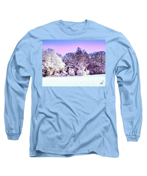 Winter Long Sleeve T-Shirt by Zedi