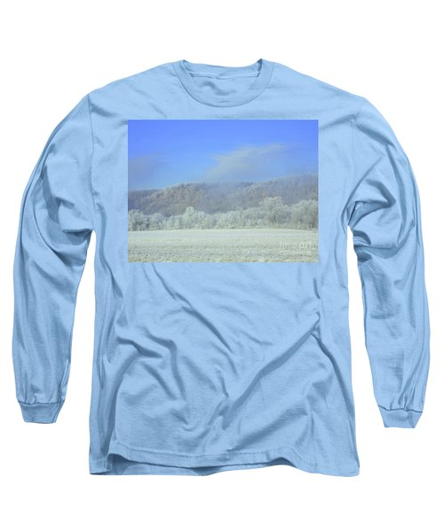 Winter's An Etching... Long Sleeve T-Shirt