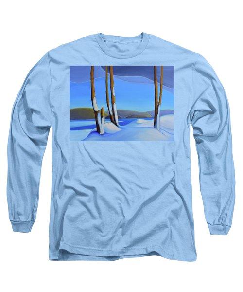Winter's Calm Long Sleeve T-Shirt