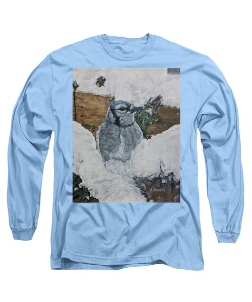 Winters Greeting Long Sleeve T-Shirt by Wendy Shoults