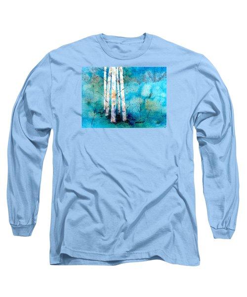Wintry Aspen Long Sleeve T-Shirt