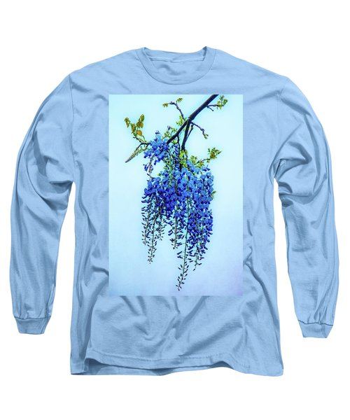 Long Sleeve T-Shirt featuring the photograph Wisteria by Chris Lord