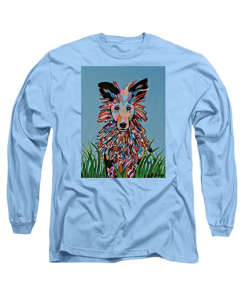 Long Sleeve T-Shirt featuring the painting Wiz by Kathleen Sartoris