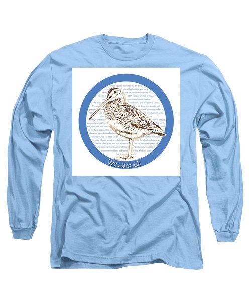 Woodcock Long Sleeve T-Shirt by Greg Joens