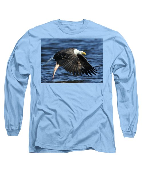 Working Hard For Dinner Long Sleeve T-Shirt by Coby Cooper