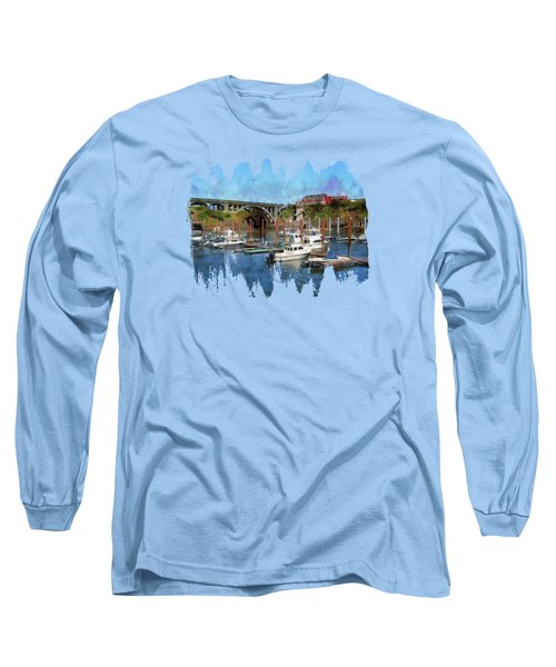 Worlds Smallest Harbor Long Sleeve T-Shirt