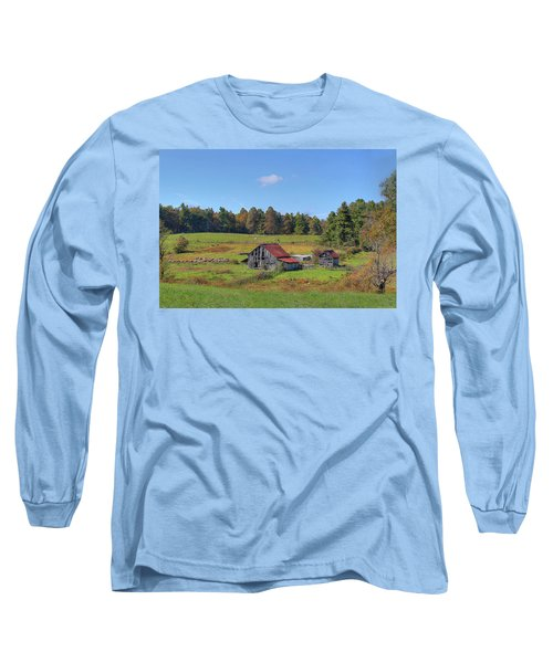 Long Sleeve T-Shirt featuring the digital art Worn Out by Sharon Batdorf