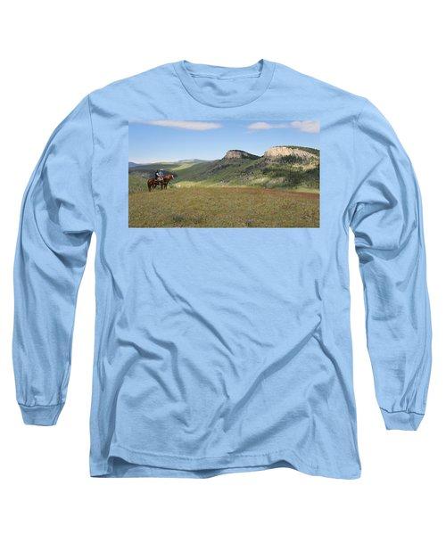 Wyoming Bluffs Long Sleeve T-Shirt