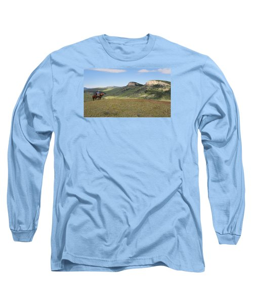 Wyoming Bluffs Long Sleeve T-Shirt