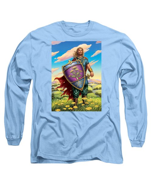 Yarrow - Protective Shield Long Sleeve T-Shirt