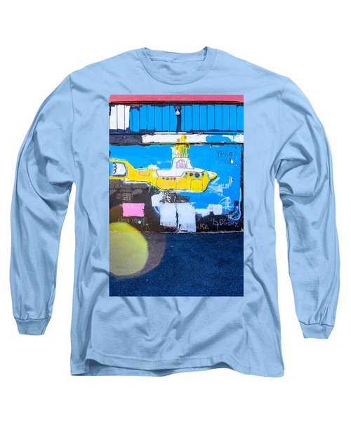 Yello Sub Long Sleeve T-Shirt by Colleen Kammerer