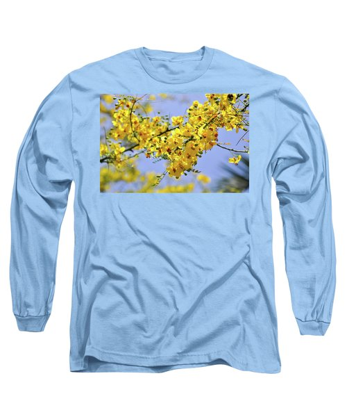 Long Sleeve T-Shirt featuring the photograph Yellow Blossoms by Gandz Photography