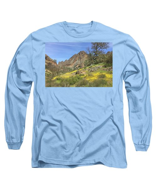 Long Sleeve T-Shirt featuring the photograph Yellow Carpet by Art Block Collections