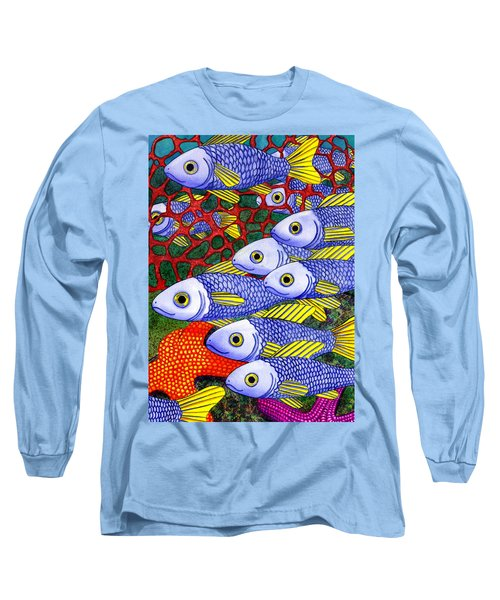 Yellow Fins Long Sleeve T-Shirt