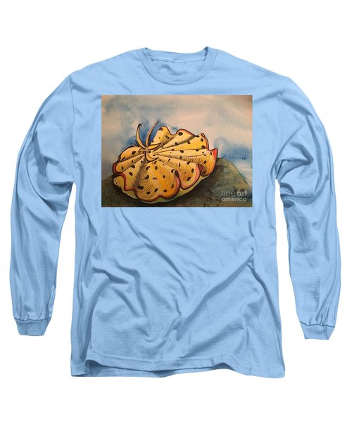 Yellow Nudibranch Long Sleeve T-Shirt