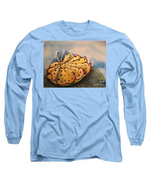 Yellow Nudibranch Long Sleeve T-Shirt