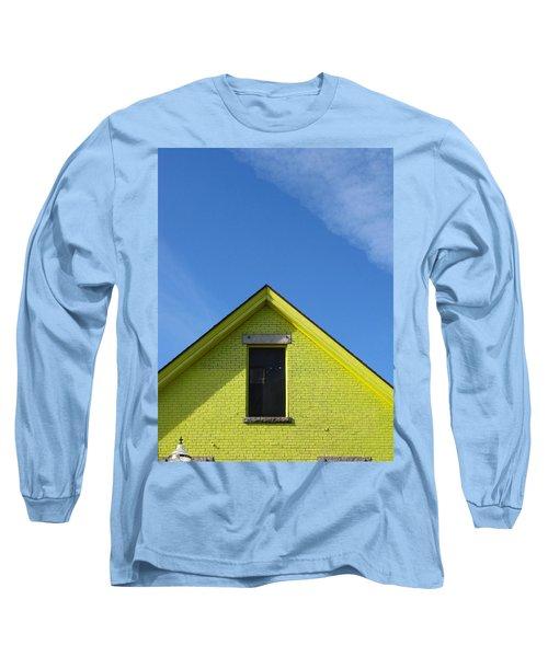 Yellow Peak Long Sleeve T-Shirt