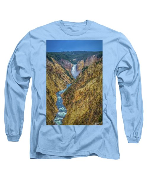 Yellowstone Falls Long Sleeve T-Shirt