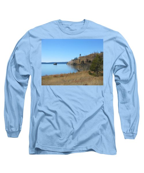 Yellowstone Lake Se Long Sleeve T-Shirt