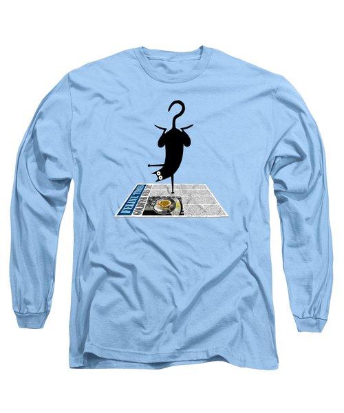 Yoga Mat Long Sleeve T-Shirt