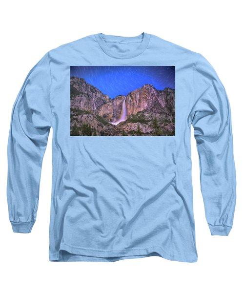 Yosemite At Night Long Sleeve T-Shirt