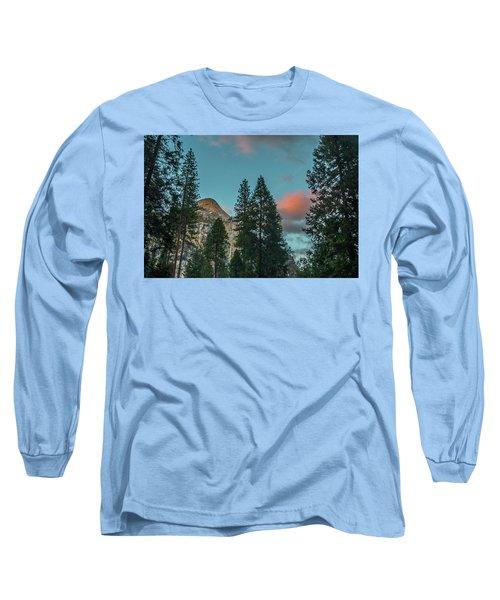 Yosemite Campside Evening Long Sleeve T-Shirt
