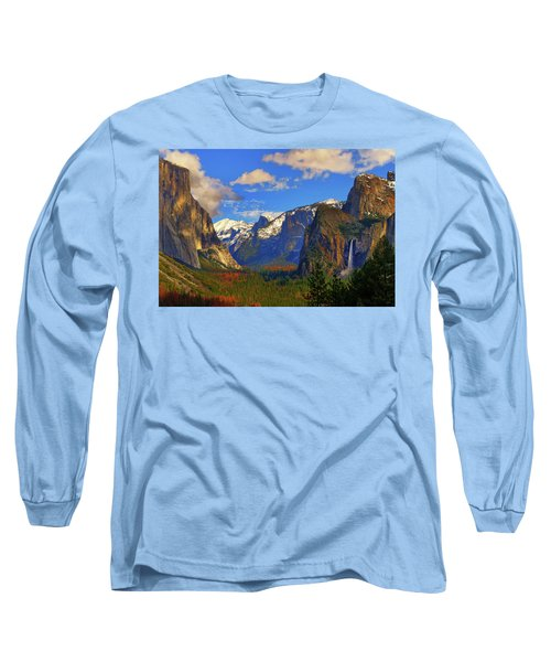 Yosemite Valley Tunnel View Long Sleeve T-Shirt