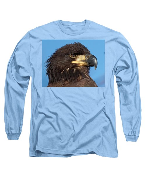 Young Eagle Head Long Sleeve T-Shirt