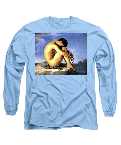Young Man By The Sea Long Sleeve T-Shirt
