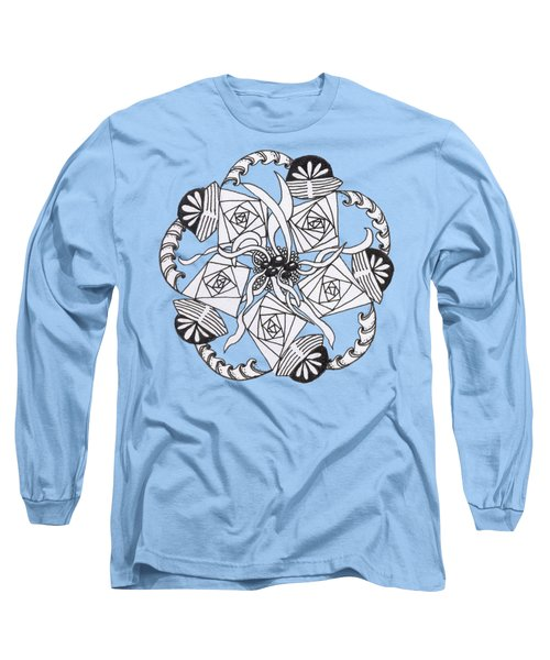Zendala Seaweed Long Sleeve T-Shirt