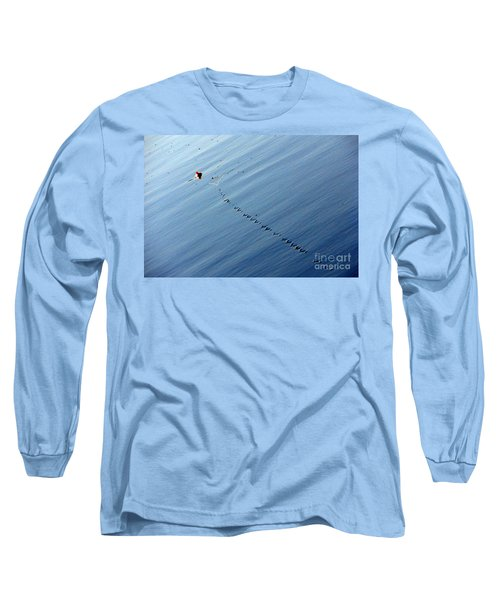 Zip Long Sleeve T-Shirt