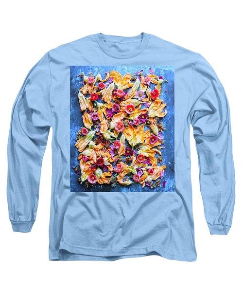 Zucchini Blossoms Season Long Sleeve T-Shirt