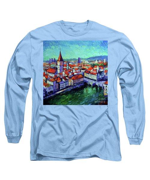 Zurich View Long Sleeve T-Shirt